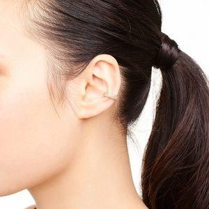 Stella dot gold pave ear cuff